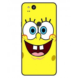 Durable SpongeBob Cover For Google Pixel 2 XL