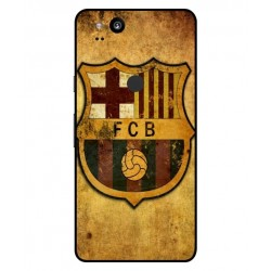 Durable FC Barcelona Cover For Google Pixel 2 XL