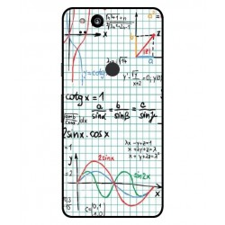 Durable Mathematics Cover For Google Pixel 2 XL