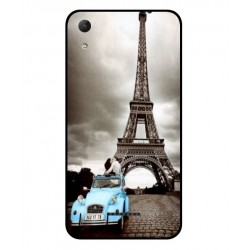 Durable Paris Eiffel Tower Cover For Wiko Lenny 4