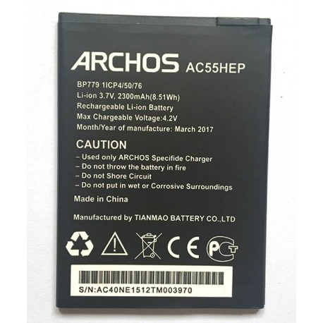 archos 55 helium plus new replacement battery free shipping. Black Bedroom Furniture Sets. Home Design Ideas