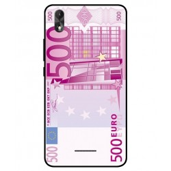 Durable 500 Euro Note Cover For Wiko Lenny 4 Plus