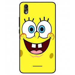 Durable SpongeBob Cover For Wiko Lenny 4 Plus