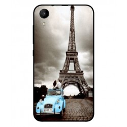 Durable Paris Eiffel Tower Cover For Wiko Sunny 2