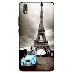 Durable Paris Eiffel Tower Cover For Wiko Lenny 4 Plus