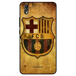 Durable FC Barcelona Cover For Wiko Lenny 4 Plus