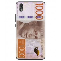 Durable 1000Kr Sweden Note Cover For Wiko Lenny 4 Plus