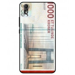 1000 Danish Kroner Note Cover For Wiko Lenny 4 Plus