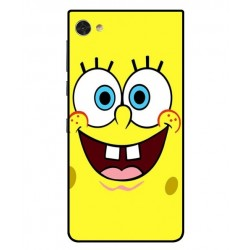 Durable SpongeBob Cover For Blackberry Motion