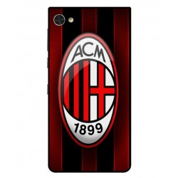 Durable AC Milan Cover For Blackberry Motion
