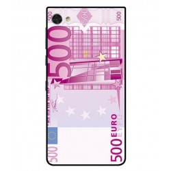 Durable 500 Euro Note Cover For Blackberry Motion