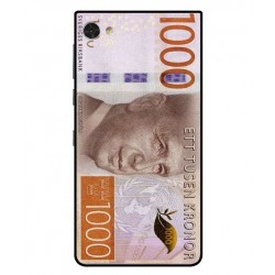 Cubierta Billete De 1000 Corona Sueca Para Blackberry Motion