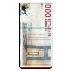 1000 Danish Kroner Note Cover For Blackberry Motion