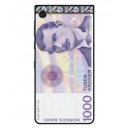 1000 Norwegian Kroner Note Cover For Blackberry Motion