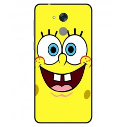 Durable SpongeBob Cover For Huawei Honor 6C Pro