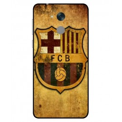 Durable FC Barcelona Cover For Huawei Honor 6C Pro