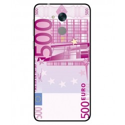 Durable 500 Euro Note Cover For Huawei Honor 6C Pro