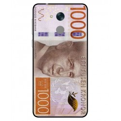 Durable 1000Kr Sweden Note Cover For Huawei Honor 6C Pro