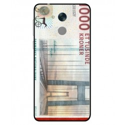 1000 Danish Kroner Note Cover For Huawei Honor 6C Pro