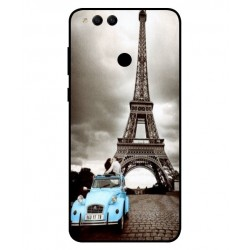 Durable Paris Eiffel Tower Cover For Huawei Honor 7X