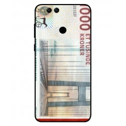 1000 Danish Kroner Note Cover For Huawei Honor 7X