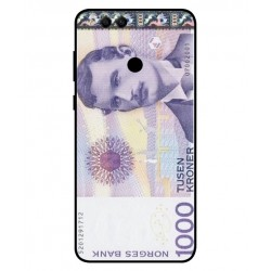 1000 Norwegian Kroner Note Cover For Huawei Honor 7X