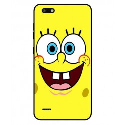 Durable SpongeBob Cover For ZTE Blade Force