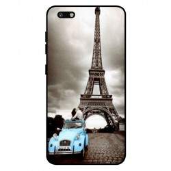 Durable Paris Eiffel Tower Cover For ZTE Blade Force