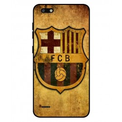Durable FC Barcelona Cover For ZTE Blade Force