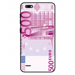 Durable 500 Euro Note Cover For ZTE Blade Force