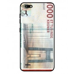1000 Danish Kroner Note Cover For ZTE Blade Force