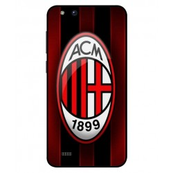Durable AC Milan Cover For ZTE Tempo X