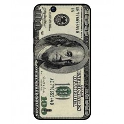 Durable 100 Dollar Note Cover For ZTE Tempo X