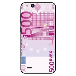Durable 500 Euro Note Cover For ZTE Tempo X