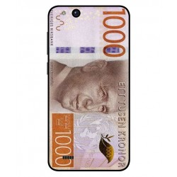 Durable 1000Kr Sweden Note Cover For ZTE Tempo X