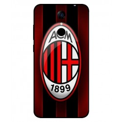 Durable AC Milan Cover For Cubot Note Plus