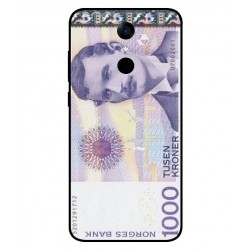1000 Norwegian Kroner Note Cover For Cubot Note Plus