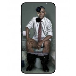 Durable Obama On The Toilet Cover For Cubot Note Plus