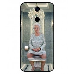 Durable Queen Elizabeth On The Toilet Cover For Cubot Note Plus