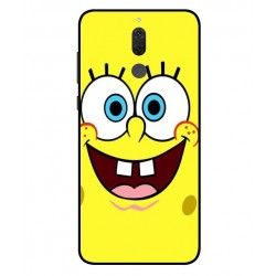 Durable SpongeBob Cover For Huawei Mate 10 Lite