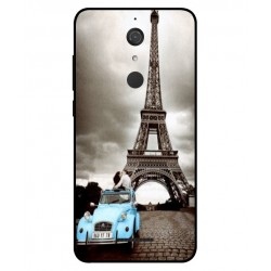 Durable Paris Eiffel Tower Cover For Wiko View