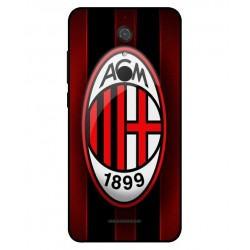 Durable AC Milan Cover For Wiko View