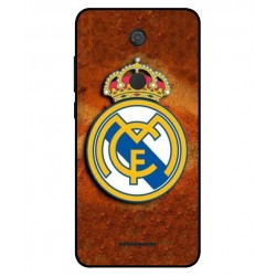 Durable Real Madrid Cover For Wiko View