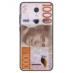 Durable 1000Kr Sweden Note Cover For Wiko View
