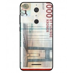 1000 Danish Kroner Note Cover For Wiko View