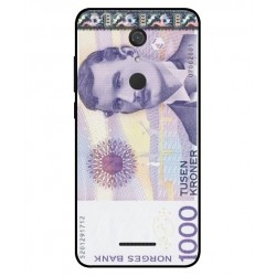 1000 Norwegian Kroner Note Cover For Wiko View