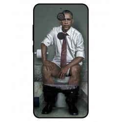 Durable Obama On The Toilet Cover For Wiko View