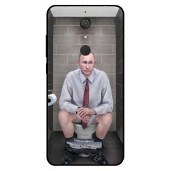Durable Vladimir Putin On The Toilet Cover For Wiko View