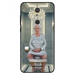 Durable Queen Elizabeth On The Toilet Cover For Wiko View