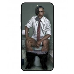 Durable Obama On The Toilet Cover For Huawei Mate 10 Lite
